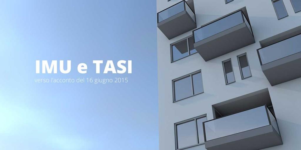 IMU E TASI: Verso Lu0027acconto Del 16 Giugno 2015